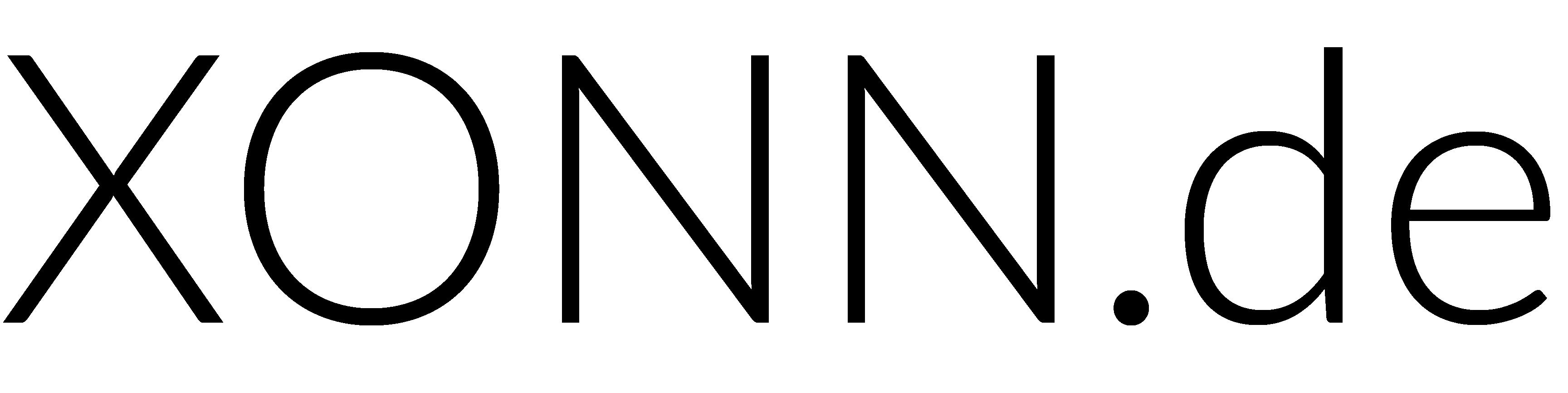 XONN.de Logo black